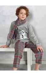 Пижама для девочек из семейной коллекции Pop corn R6949