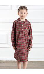 Прикольная детская ночная рубашка Honey Pellegrini_Nancy girl flanella 641