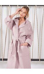 Женский банный халат Rebecca & Bross. R&B_AKD3