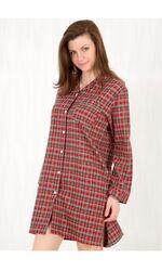 Женская фланелевая рубашка на пуговицах Lady Law Pellegrini_Nancy flanella 641