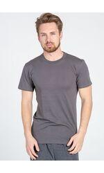 Серая мужская футболка Snelly Snelly Uomo_7015 grigio