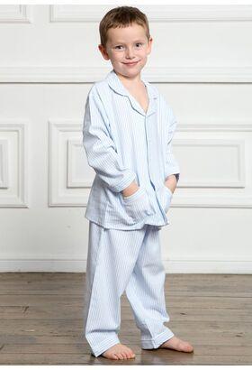 Мягкая фланелевая пижамка для мальчика Allegrino Pellegrini_Charly boy flanella 885