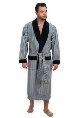 Мягкий велюровый халат из бамбука FARELL (EPP M124)
