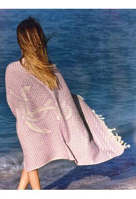 Махровое полотенце - простынь - накидка MARIN BEACH (LMD)