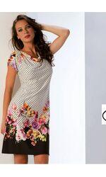 Яркое летнее платье из мягкой вискозы B&B B&B_4567