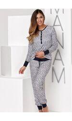 Пижама женская из вискозы Manam M_8177
