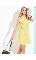 Летнее платье с круглым воротничком Sunnyday DiBen_Milano