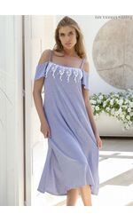 Летнее домашнее платье с разрезами Miss Lingerie DiBen_Londra