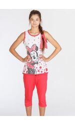 Бриджи и топ для девочки-подростка Planetex Planetex_WD22560 corallo