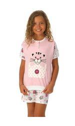 Летняя пижама для девочки с котиками Snelly Snelly_40023