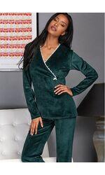 Велюровый женский домашний костюм Manam M_9676