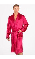 Шелковый мужской халат B&B B&B_1501