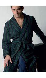 Мужской халат в благородную полоску B&B B&B_Urbino