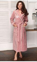 Женский махровый бамбуковый халат с капюшоном Juliette (LFW)