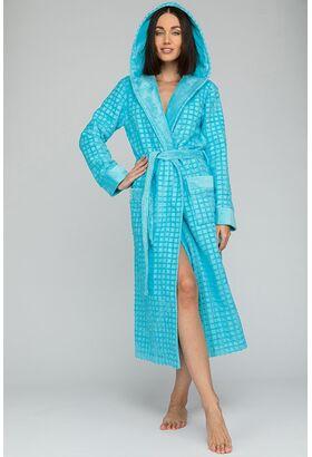 Махровый халат с капюшоном из микро-коттона Ultra Doux (PM France 741)