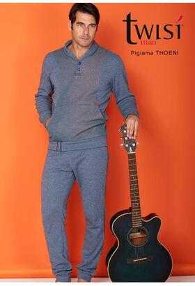 Мужская одежда для дома с карманом-муфтой Twisi Twisi_Thoeni