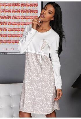 Ночная рубашка с вензелями Manam М_9686