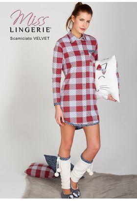 Женская домашняя рубашка Miss Lingerie DiBen_Velvet