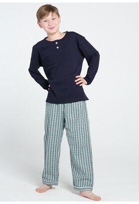 Трикотажная кофта + фланелевые брюки для мальчиков Allegrino Pellegrini_Peter boy flanella 805