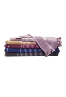 Универсальное большое махровое полотенце BUKLE 85х150 (LMD)
