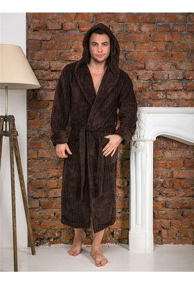 Мужской халат с капюшоном Michael (LPL 502)