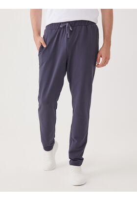 Домашние мужские брюки из футера (LLT 13889)