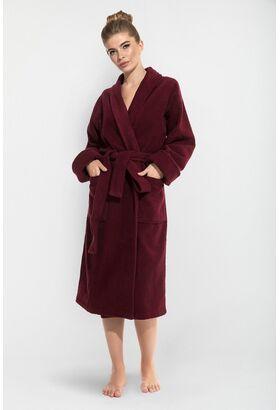 Женский махровый халат Red Queen (E 305)