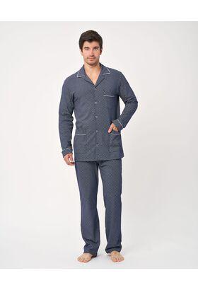 Мужская пижама из кулирки (LLD 6258)