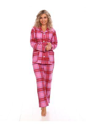 Женская пижама из фланели (LLT 3600)
