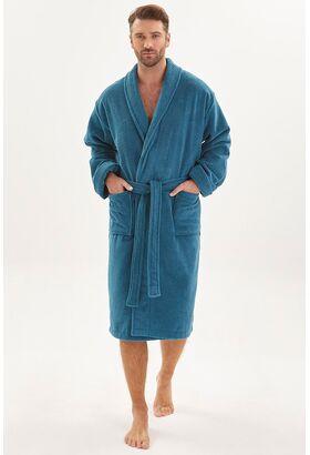 Махровый халат из micro-cottona высокой плотности Wanted (PM 950)