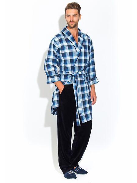Стильный комплект - легкий халат и брюки Première №32 (PM 2109/1)