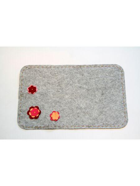 Комплект валяный для бани: Шапочка и коврик