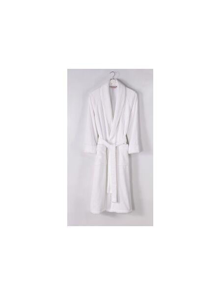 Легкий мужской махровый халат DeLuxe (ЕSC)