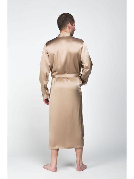 Мужской халат из натурального шелка Luxe Dream