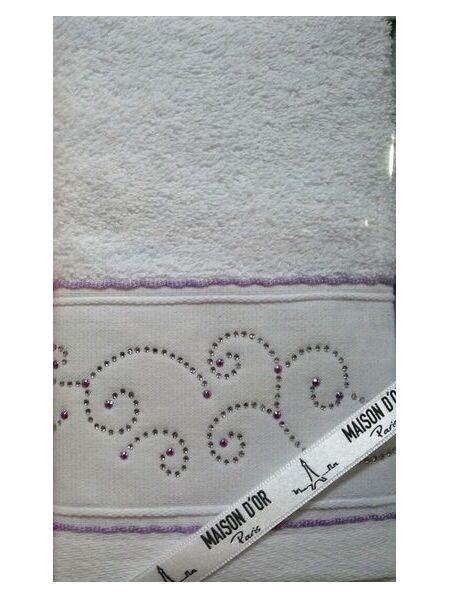 Махровое полотенце с стразами Daliy (ЕMD)