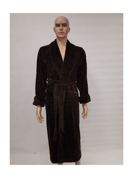 Бамбуковый махровый халат для мужчин (NS-2860)