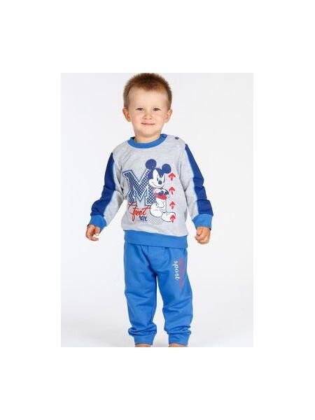 Домашний костюмчик для малыша с Mickey Mouse Planetex Planetex_WD100353 grigio