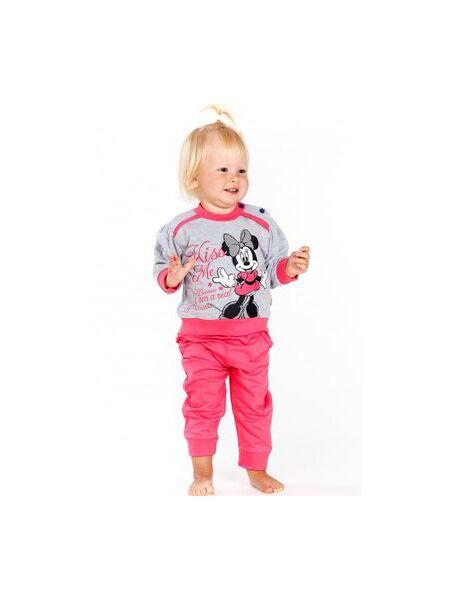 Домашний костюмчик для малышки с Minnie Mouse Planetex Planetex_WD100357 grigio