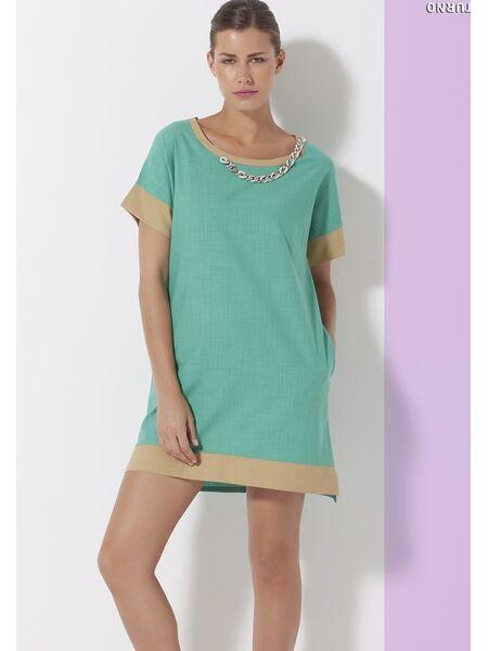 Функциональное пляжное платье с коротким рукавом Sunnyday DiBen_Saturno
