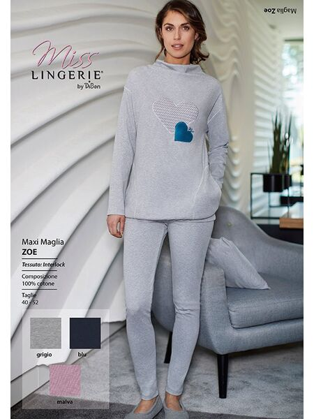 Леггинсы и туника для дома и сна Miss Lingerie DiBen_Zoe