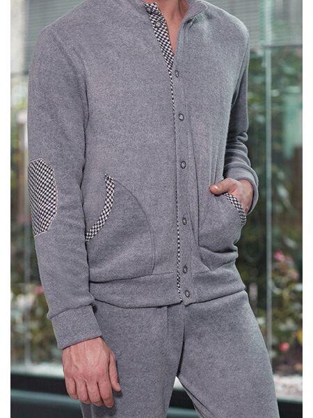 Мягкий домашний серый костюм Twisi Twisi_Saul