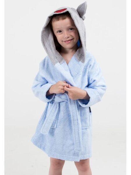 Детский бамбуковый халат с ушками Happy people HP_2847