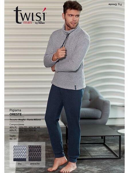 Практичная мужская домашняя одежда Twisi Twisi_Oreste
