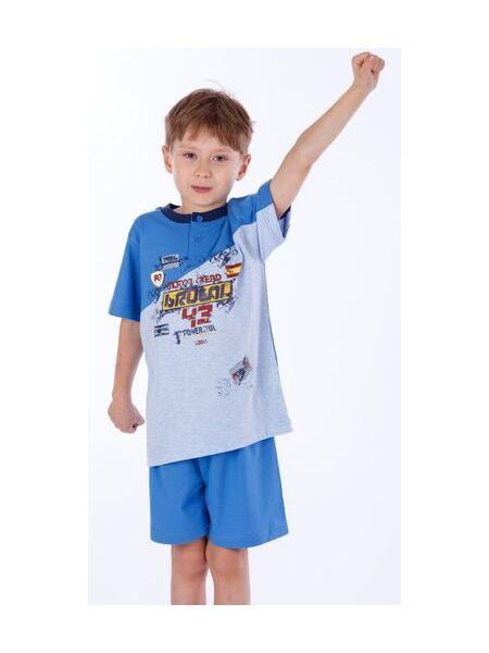 Легкая пижама для мальчика Eclisse C2199blu
