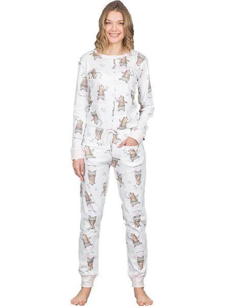 Прикольная пижама-комбинезон Happy people HP_3848