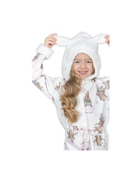 Пижама-комбинезон с капюшоном и ушками Happy people HP_3859