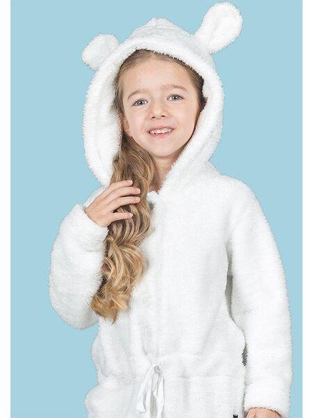 Комбинезон-мишка из плюша с ушками Happy people HP_3954