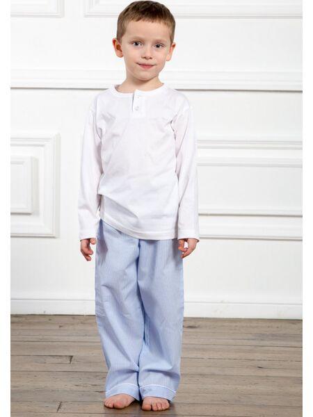 Пижама для мальчика с трикотажной кофтой Allegrino Pellegrini_Peter boy 102