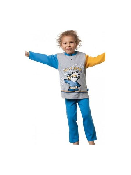 Хлопковый комплект детской домашней одежды Stella Due Gi В4608