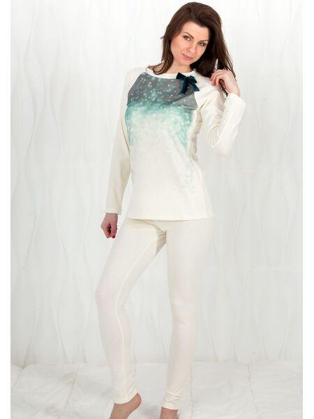 Женская трикотажная пижама с леггинсами Rebecca & Bross. R&B_3242